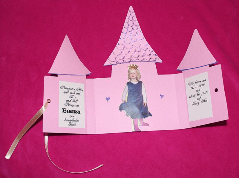 einladung zum kindergeburtstag selber basteln – kathyprice, Einladungsentwurf